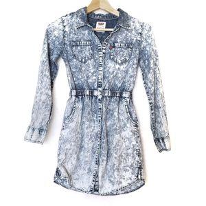 Levi's | Acid Wash Soft Chambray Denim Dress